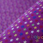 Violett mit Sternen   Jersey