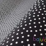 Schwarz mit Sternen   Jersey